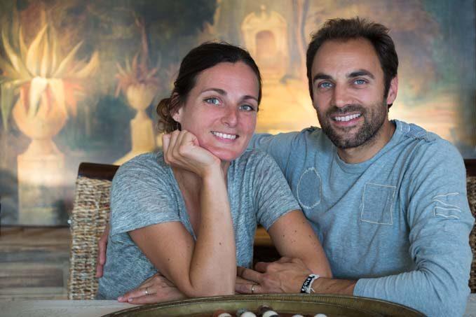 Nathalie et Nicolas Leal - La cave Margot © Laurence Mary