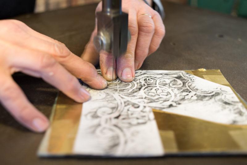 Atelier Marie-Hélène Poisson © L. Mary
